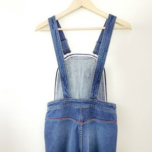 Free People Jeans - FP // Chasing Rainbows High Rise Flared Overalls